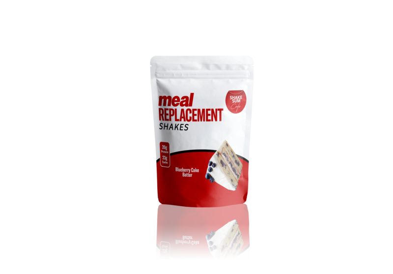 Shake Sum Meal Replacement Pack - Blueberry