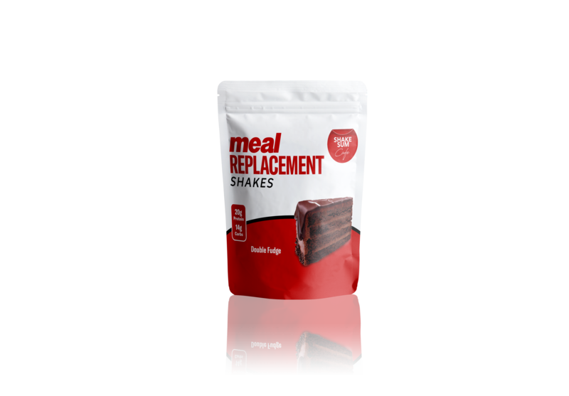 Shake Sum Meal Replacement Single- Double Fudge