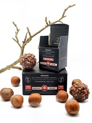 High Heals Truffles - 100 mg or 400 mg THC - Hazelnut Delight