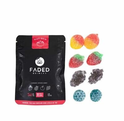 Faded Cannabis Co. 240mg Gummies