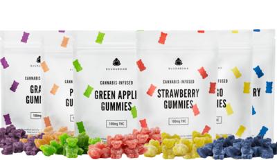BuudaBomb Gummies - 100mg THC