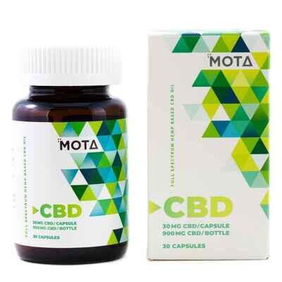 Mota CBD 30 mg Capsules