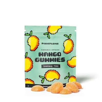 Pixieplums Mango Gummies - 500 MG
