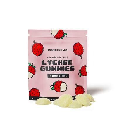 Pixieplums Lychee Gummies - 500 MG