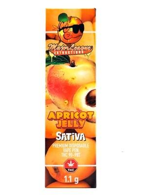 Major League Extractions – 1.1 G Disposable Vape Pen -  Apricot Jelly