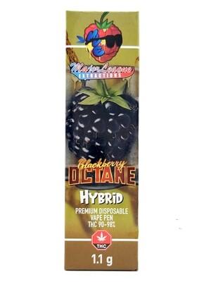 Major League Extractions – 1.1 G Disposable Vape Pen -  Blackberry Octane