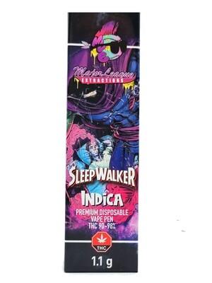 Major League - 1.1 G Disposable Vape Pen - Sleepwalker