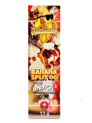Major League Extractions – 1.1 G Disposable Vape Pen -  Banana Split