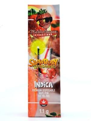 Major League Extractions – 1.1 G Disposable Vape Pen - Strawberry Lemonade