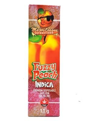 Major League Extractions – 1.1 G Disposable Vape Pen -  Fuzzy Peach