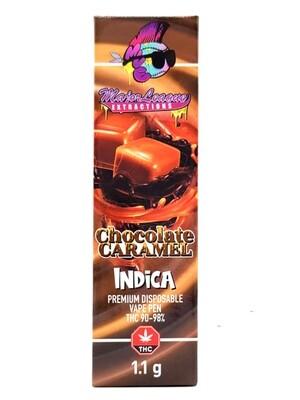 Major League Extractions – 1.1 G Disposable Vape Pen -  Chocolate Caramel