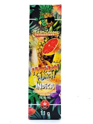 Major League Extractions – 1.1 G Disposable Vape Pen -  Hawaiian Punch
