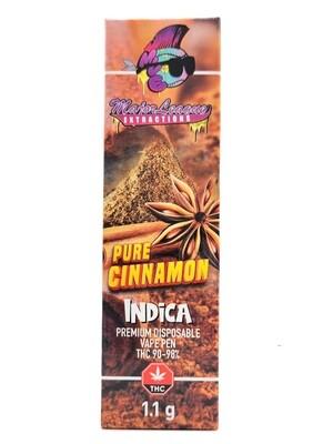 Major League Extractions – 1.1 G Disposable Vape Pen - Pure Cinnamon