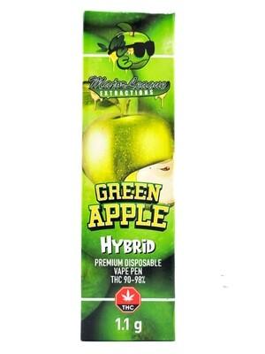 Major League Extractions – 1.1 G Disposable Vape Pen -  Green Apple