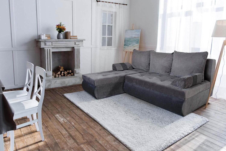 Corner Sofa Bed Gino Grey - stylish modern sofa