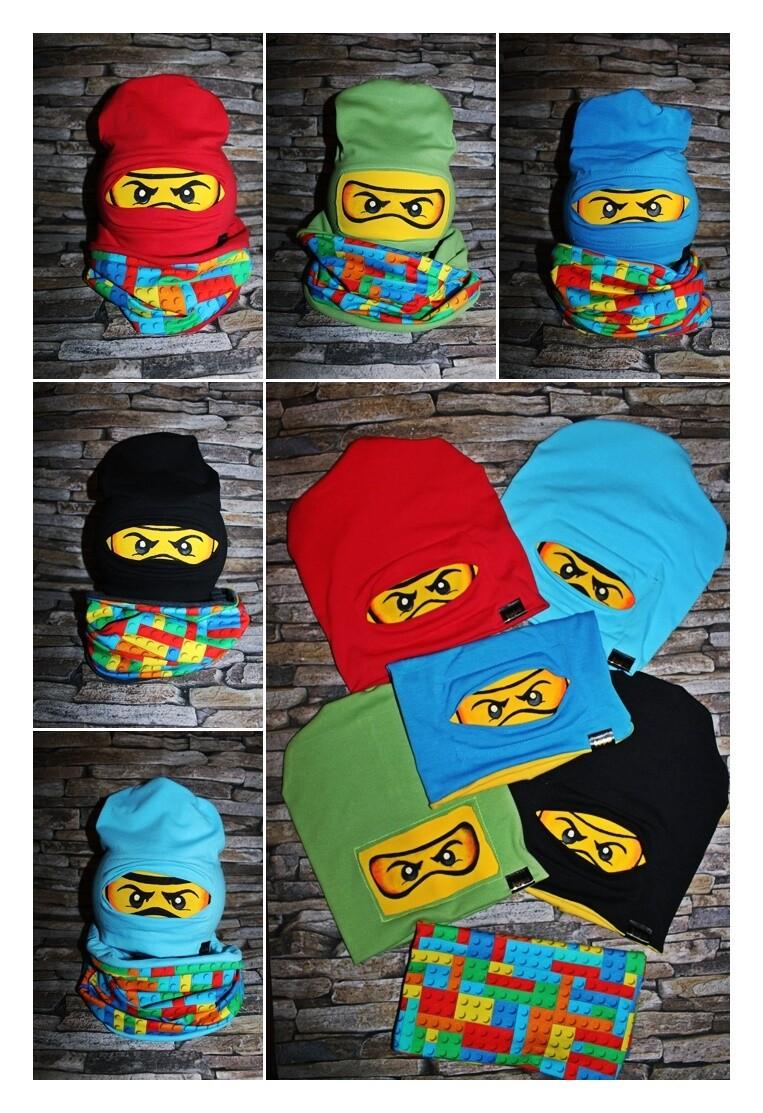 Ninja átmeneti  sapi szett 5 féle színben