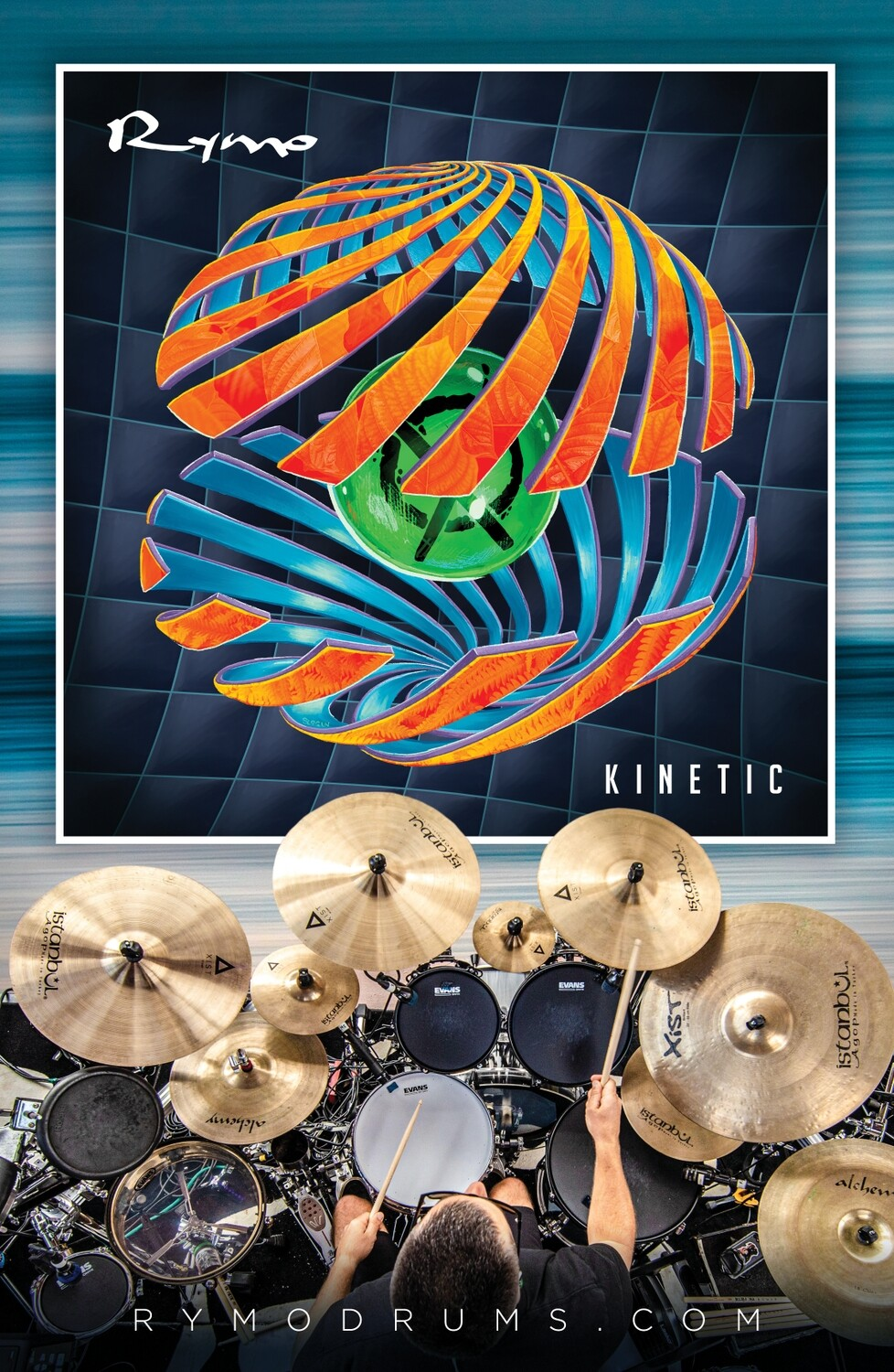 Limited Edition - Autographed Kinetic Poster