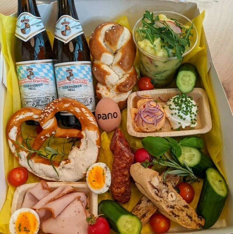 Vatertags-Frühstücksbox
