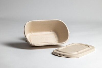 700 ml Containers with lids (500 pcs set) - Plastic Lids Only