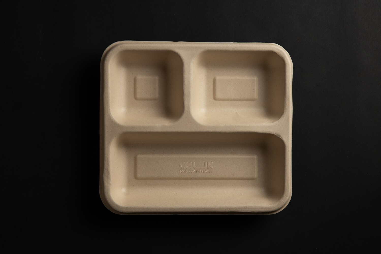 3 Compartment Tray | 500 pc