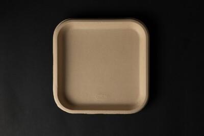 7 Inch Square Compostable Plates | 1000pcs