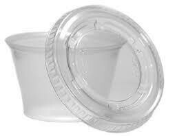 4oz Lid For Portion Cup 2500'|CS