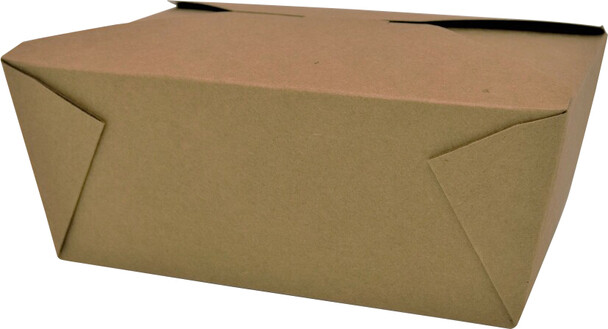 #4 Kraft Paper Food Container - 200|case
