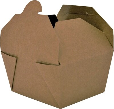 PaperBox - #1 Kraft Paper Food Container - 200/case