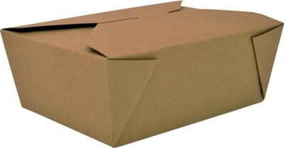 #8 Kraft Paper Food Container, 200/case
