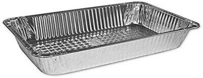 Foil Steam Pans Full Tray  Heavy Duty  with Foil Lids