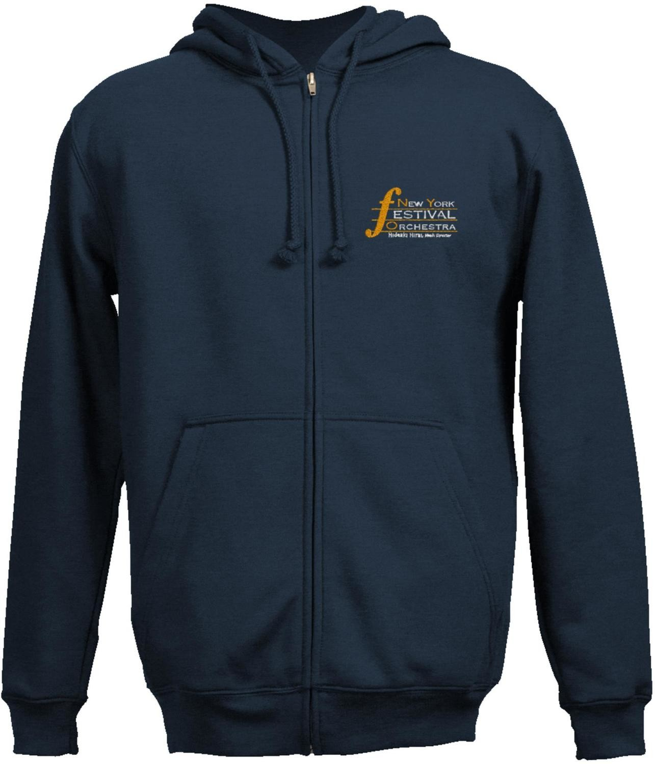 Hoodie with Embroidered NYFO Logo