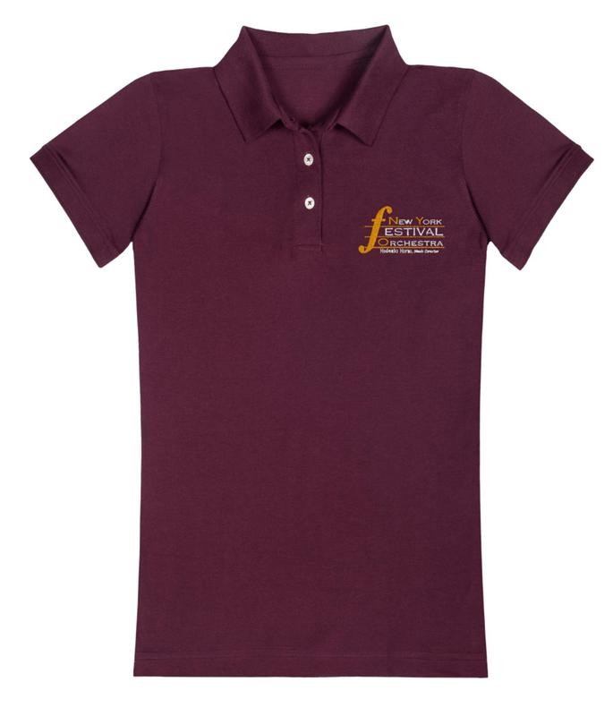 Emboidered Women's Polo Shirt