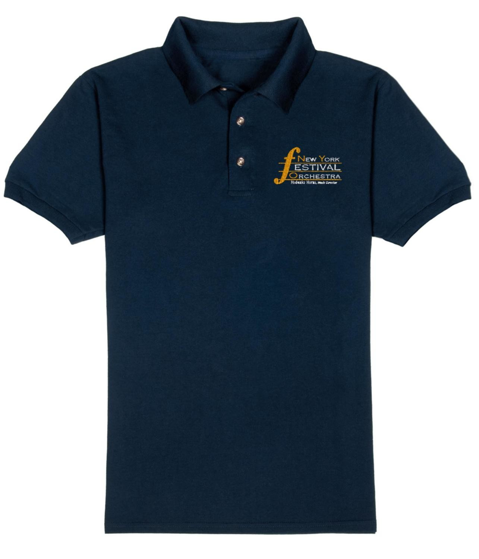 Emboidered Men's Polo Shirt