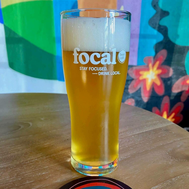 16 oz Focal Nonic Glass
