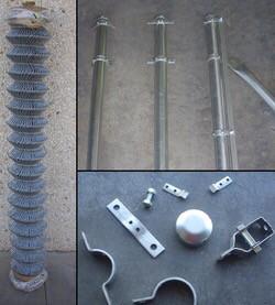 Kit de cercados y puerta metalicas