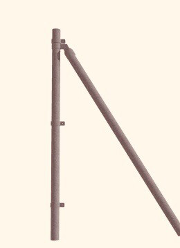 Postes arranques 1 m alto !!