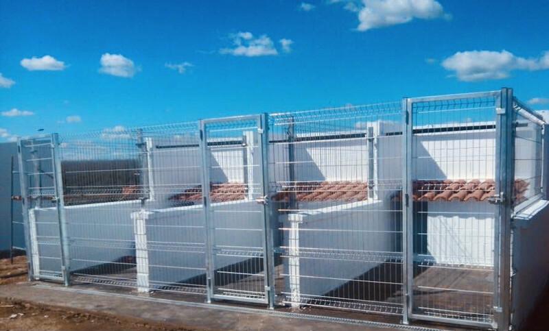 Jaula boxes para perros desmontable galvanizada 2.00 alto !!