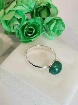 """Forever"" -  Sterling Silver Ring"