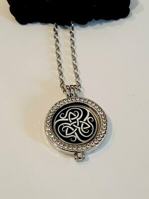 Celtic Coin Locket With Coin