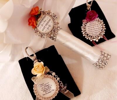 Bridesmaid / Maid of Honour Bouquet Clip