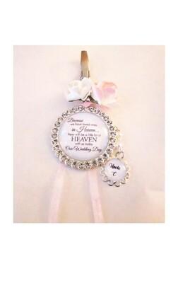 """Missed"" - Bridesmaid Charm Gift"
