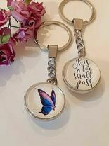 This Too Shall Pass Key Ring
