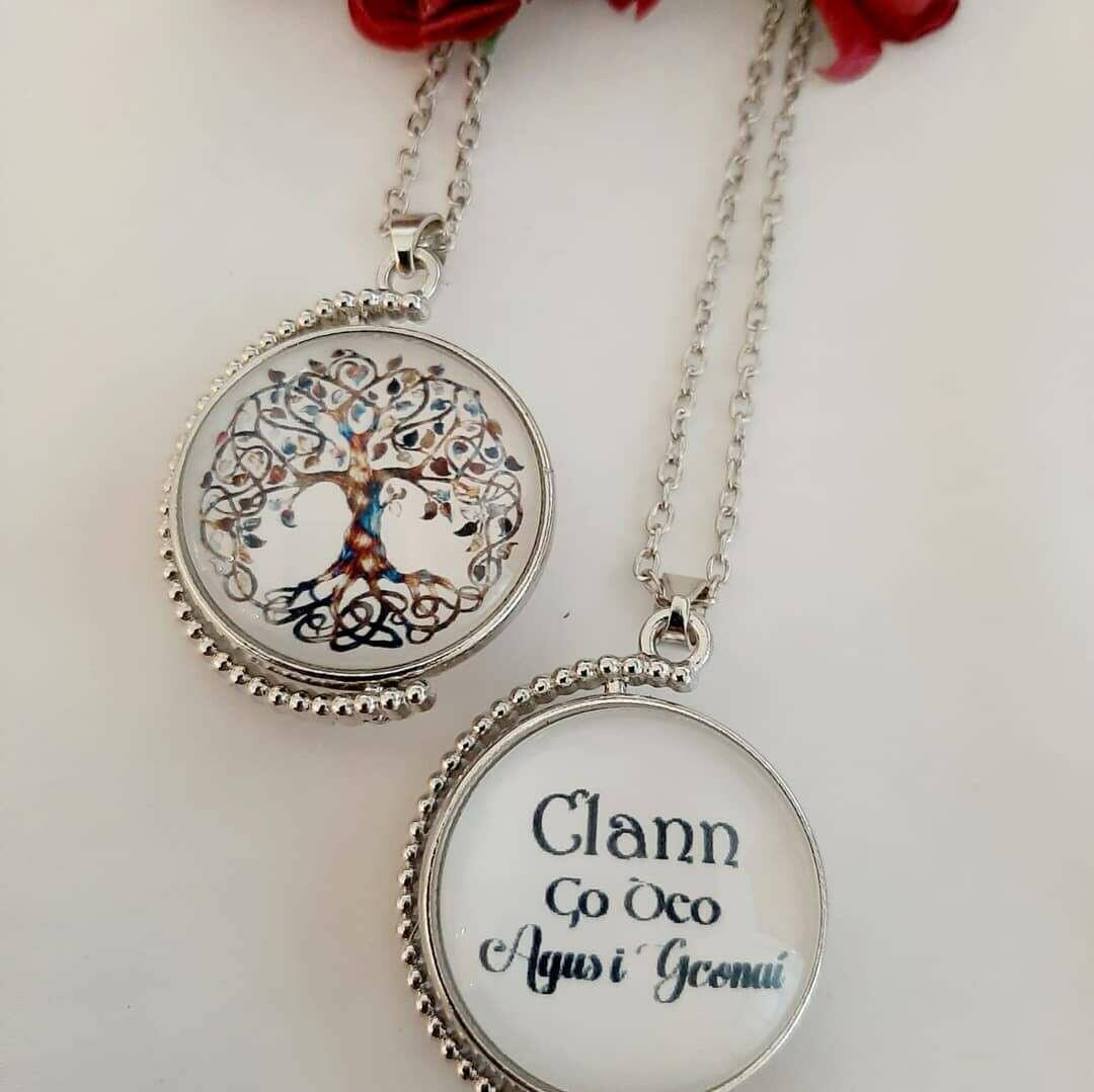Clann ( Family) Rotation Pendant