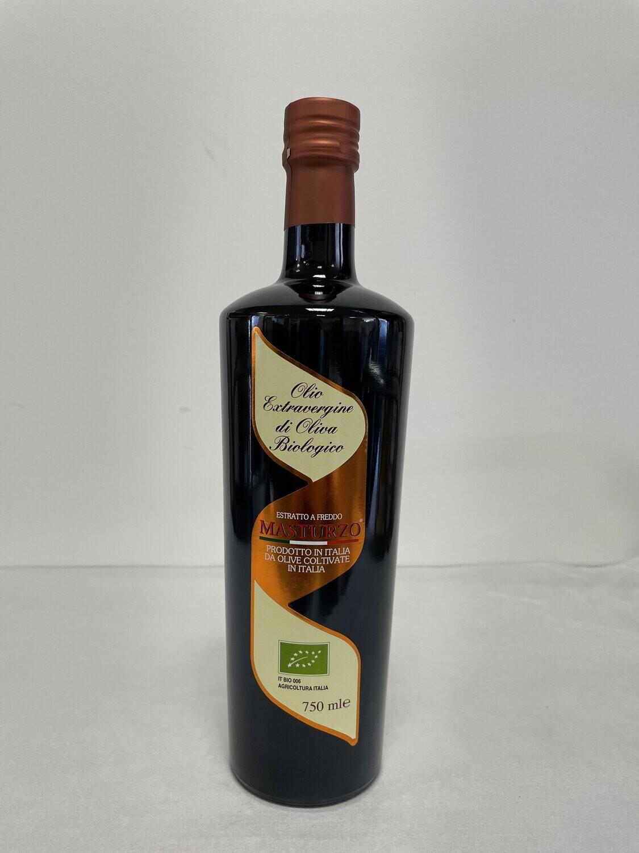 """Olio extra vergine di olivia """"BIOLOGICO""""MASTURZO"""""""