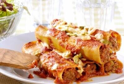 Cannelloni à la viande pièce