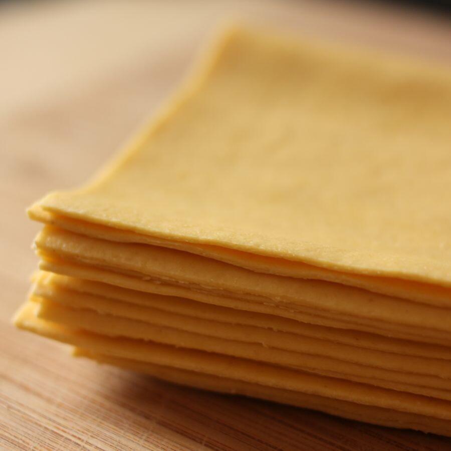 Feuille à lasagne