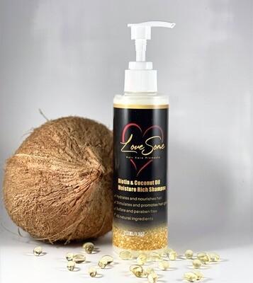 Biotin & Coconut Oil Moisture Rich Shampoo
