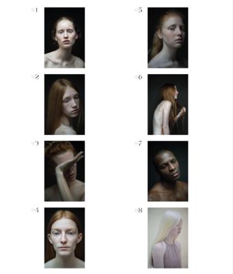 BOOK Emotions In Between Emotions + 4 PRINTS 20 x 13 cm