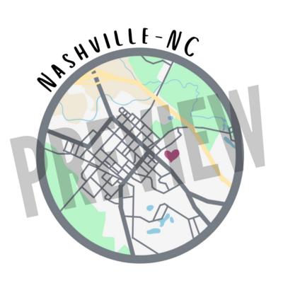 Flat Icon - Nashville, NC
