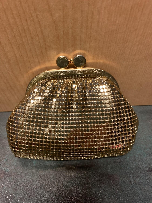 Gold change purse